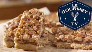 Pecan Pie Bars - Recipe - Legourmettv