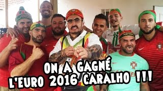 Ro et Cut - On a gagné l'Euro 2016 caralho !!!