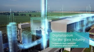 Tecnomatix Plant Simulation in container glass manufacturing industry