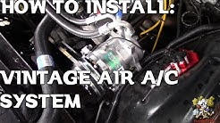 Vintage Air Install !!! 1970-1981 Camaro