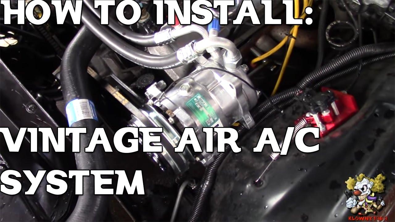 Vintage Air Install !!! 1970-1981 Camaro on