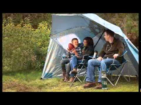 334b39c337ce Sport Brella XL Portable Sun and Weather Shelter - YouTube