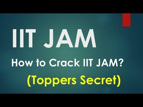 How to Crack IIT JAM Entrance Test for MSc   (Tips)