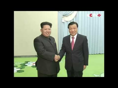 Kim Jong Un meets Chinese Delegation