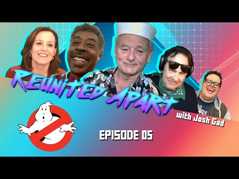 Josh Gad's Who Ya Gonna Zoom? | Reunited Apart GHOSTBUSTERS Edition
