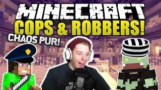 Minecraft COPS & ROBBERS - SO EIN CHAOS! | ungespielt