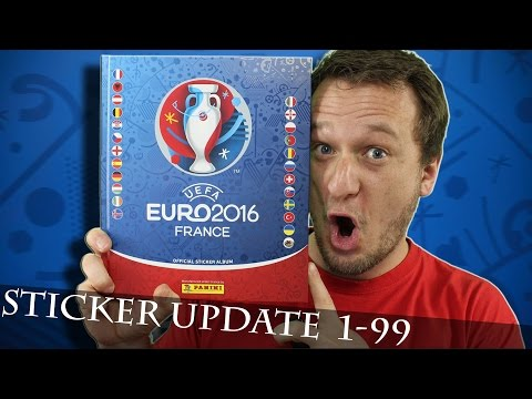 EURO 2016 STICKER ALBUM Update 1-99