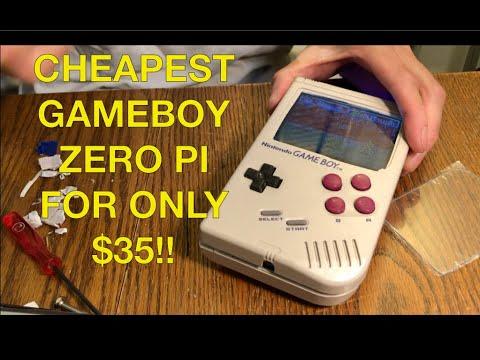 Cheapest built game boy Zero pi for $35