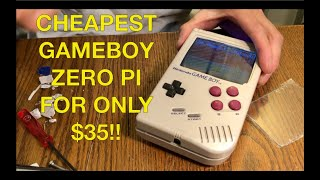 Cheapest built game boy Zero pi for $35