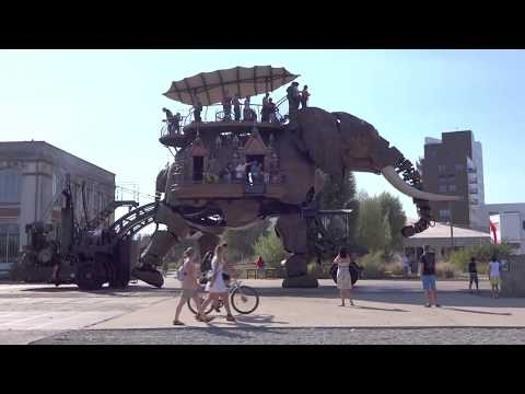 Nantes, France: art, architecture and the Nantes elephant