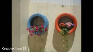 40 Creative Ideas For Home Decoration 2017 - From Recycle Tyres Pallet Stone Part.6 -newest house