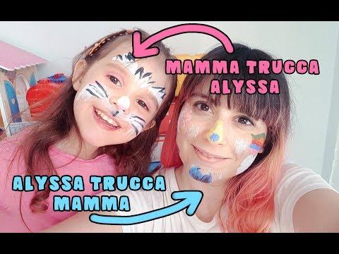 TRUCCABIMBI IN CASA! 😂 Io trucco Alyssa e poi lei trucca me! 😂