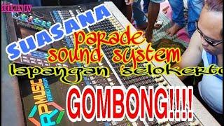 Parade Sound System lapangan Selokerto Gombong 28 Juni 2020