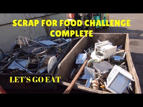 Street Scrap - No Food in the Fridge Challenge Pt 2