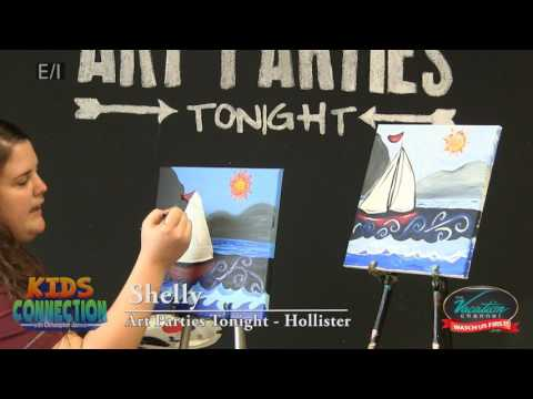 Art Lesson: Sailboat Painting on Kids Connection