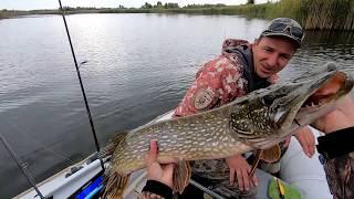 ЩУКИ 5 5 4 и 3 кг НА крупный СИЛИКОН Удачная рыбалка ТРОФЕЙНАЯ ЩУКА СЕЗОН 2019