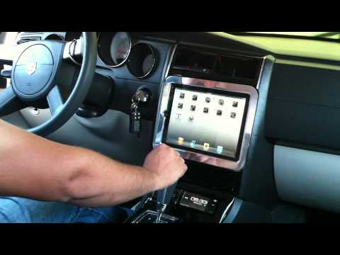 Ipad In Car Dodge Charger Youtube