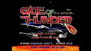 (PC Engine CD) Gate of Thunder - Completed 1 Life / No Deaths, 1CC 1080p60