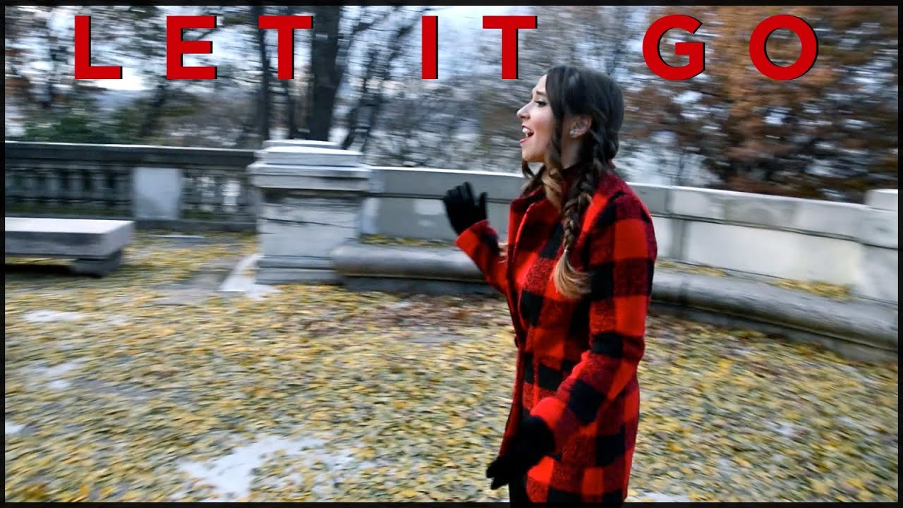 """Let It Go"" - Disney's Frozen - Idina Menzel Demi Lovato - Cover by Ali Brustofski"