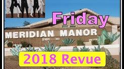 2018a: Meridian Manor Revue, Friday 3/09/2018 (Amateur Musical Variety Show, Apache Junction AZ)