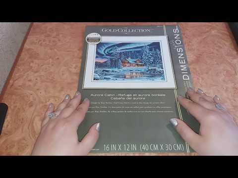 DIMENSIONS - Северное сияние. Отчет № 3.   #dimensions #дименшионс #северноесияние #вышивка