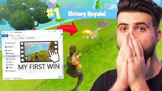 I finally found my FIRST Fortnite win... (3 YEARS LATER!)