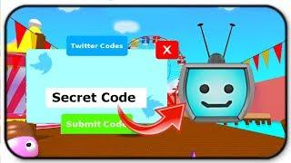 Use This Super Secret Code For A Epic Teevee Head Pet  N Roblox Blob Simulator