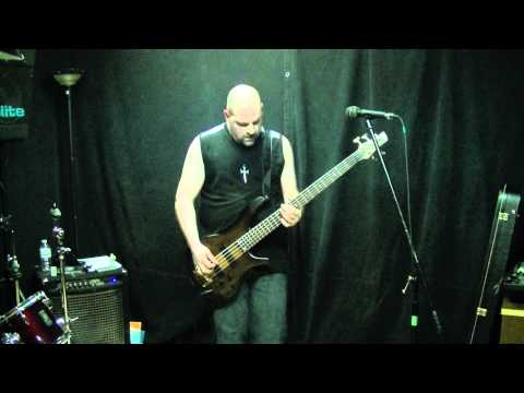 "Machine Head Bass Audition - ""This is the End"" by Chris Boshis"