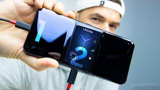 SMARTPHONE com 2 CARREGADORES   Lenovo Legion Phone DUEL 2