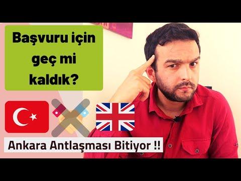 Ankara Antlaşmasında Son Gelişmeler / Son Başvuru Tarihi ???