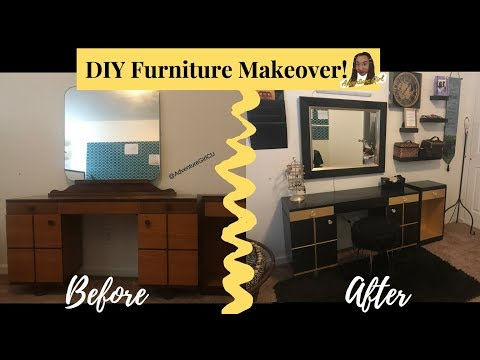 DIY Thrifty Furniture Makeover (Easy How To)