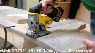 How To Quickly Cut Work Top - Dewalt Dcs331 18v Xr Jigsaw