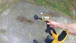 garrett ace 250 metal detector best real test video review moon shiner