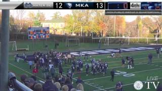 MUST SEE - MKA WINS PLAYOFF QUARTERFINAL ON HAIL MARY