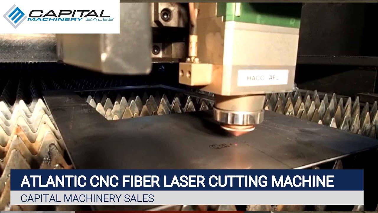 Atlantic CNC Fiber Laser Cutting Machine