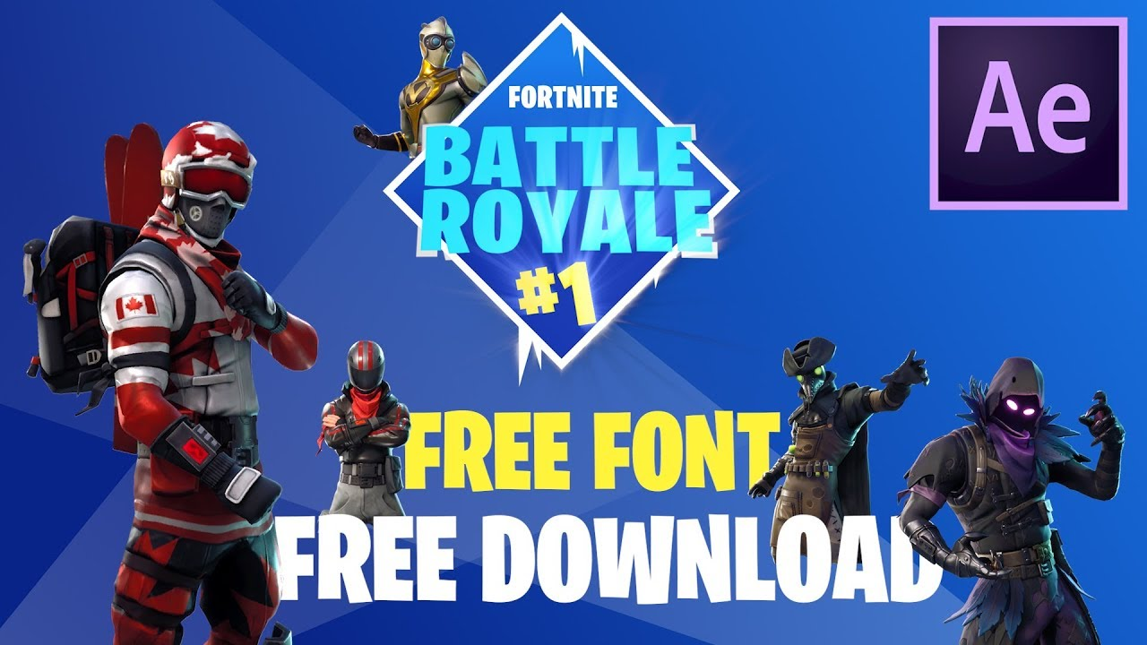 FREE Fortnite Elements! How to Create Them // After Effects Tutorial + FREE  Download!