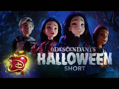 Wicked Woods 🎃 | A Descendants Short Story  | Descendants 3