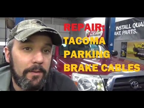 Replace Toyota Tacoma Parking Brake Cables Youtube