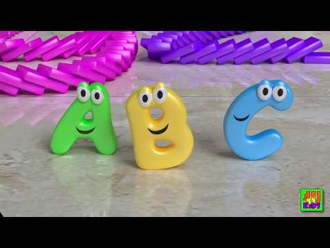 ABC Song - Domino Alphabet Song