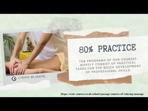 aromatherapy massage course in London
