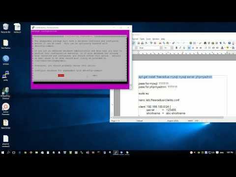 How to Freeradius with Ubuntu MikroTik Raspberry Pi WPA 2 Enterprise EAP