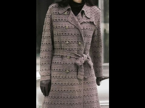 Crochet Patterns For Crochet Jacket Cardigan Coat 60 YouTube Stunning Crochet Long Cardigan Pattern