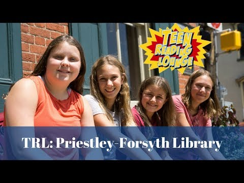 Teen Reading Lounge - Priestley Forsyth