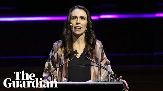 Jacinda Ardern urges leaders to widen their definition of 'prosperity'