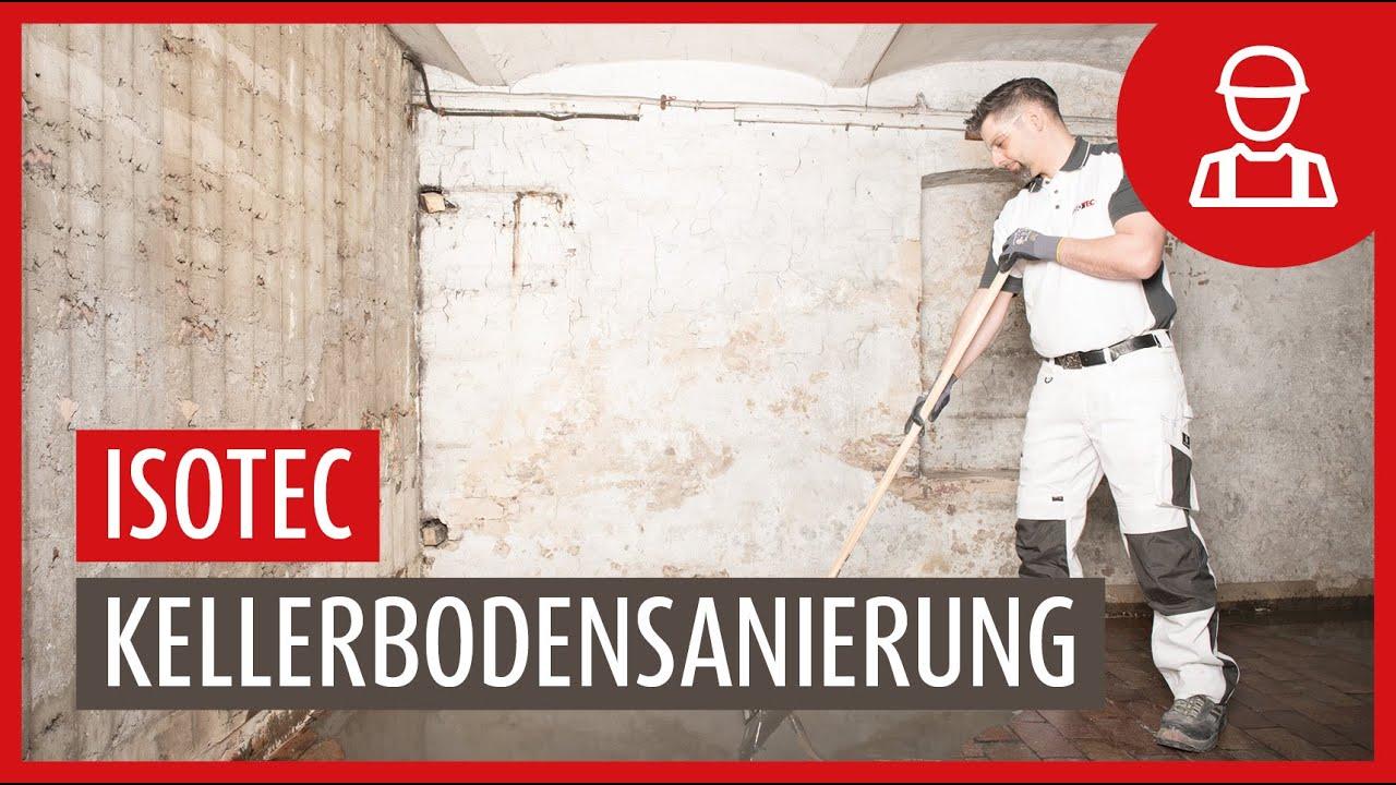 Fußboden Im Keller Abdichten ~ Kellerbodensanierung im detail youtube