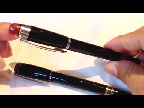 comparing the montblanc starwalker fineliner pen to a. Black Bedroom Furniture Sets. Home Design Ideas