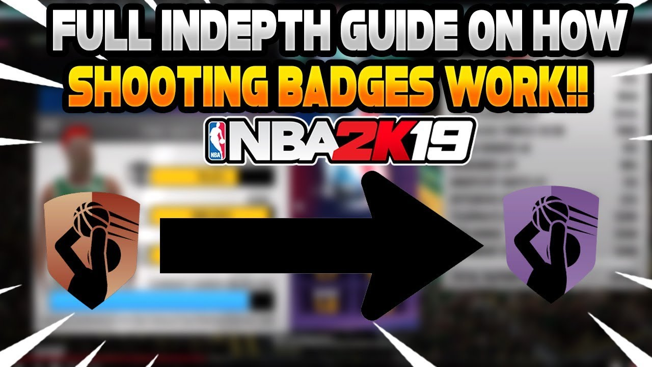 Full INDEPTH BREAKDOWN on how BADGES WORK in NBA 2K19! THE DIFFERENCE  BETWEEN NONE TO HOF BADGES 😱