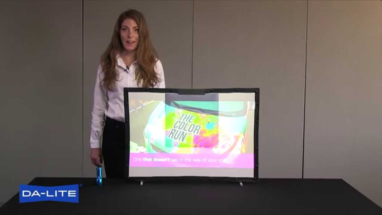 Parallax 0 8 Ambient Light Rejecting Projection Screen