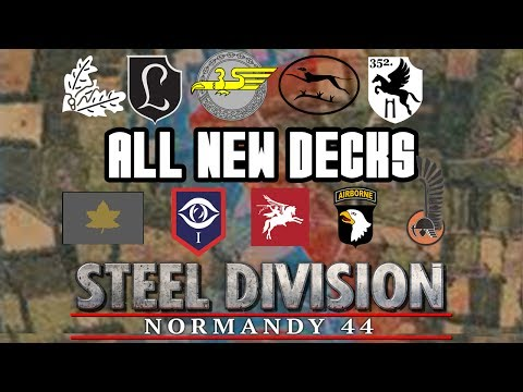Steel Division: Normandy '44 | Deck Showcase | The New Decks