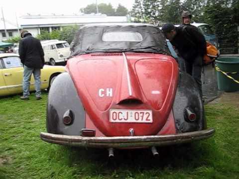 hebmuller vw beetle Convertible @ bad camberg 2011